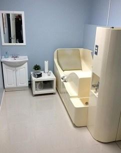 Colon spas treatment room